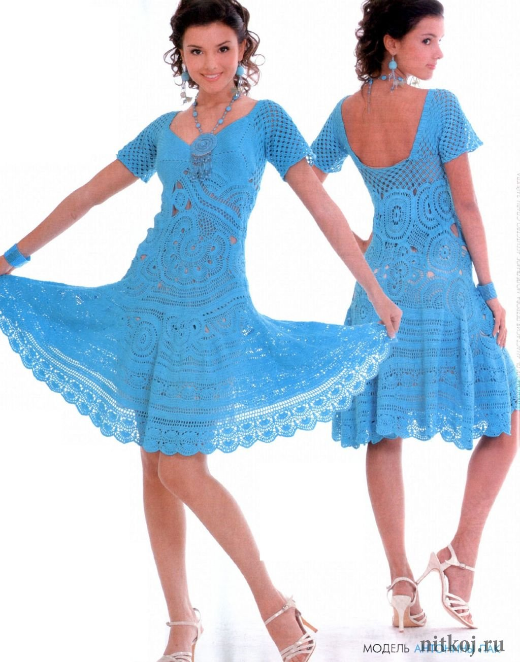 Вязание для лета крючком модное