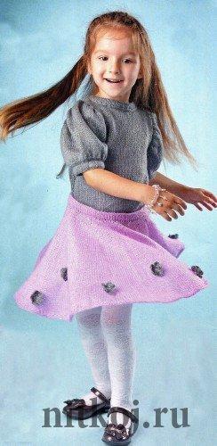 Пуловер с рукавами «Фонарик и