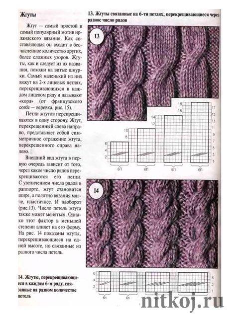 Вязание-спицы-Жилеты