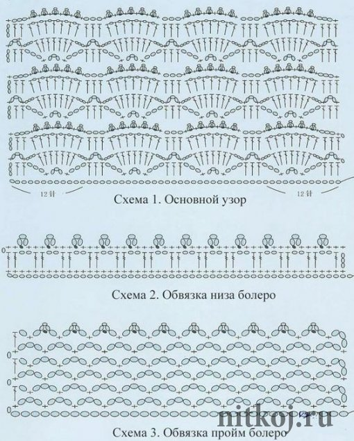 Для вязание девицы используют длинные