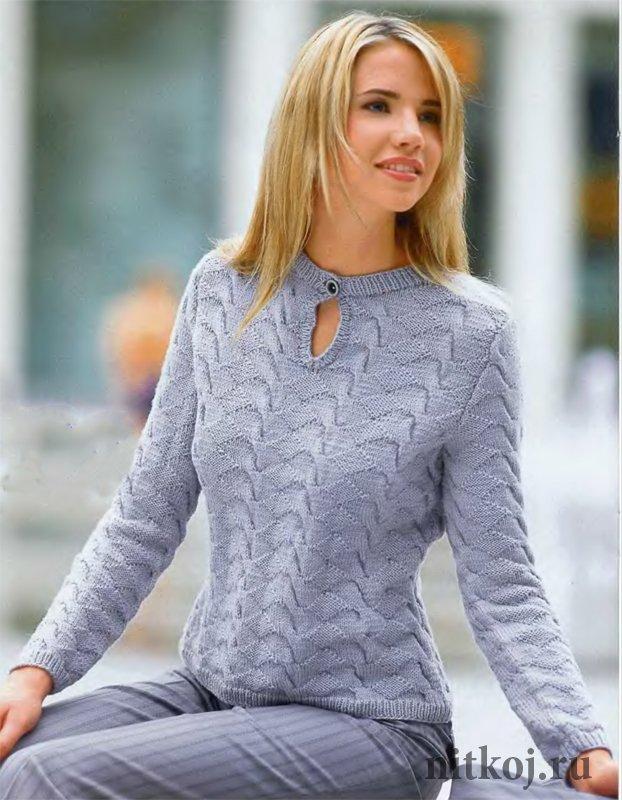 Вязание свитера в деловом