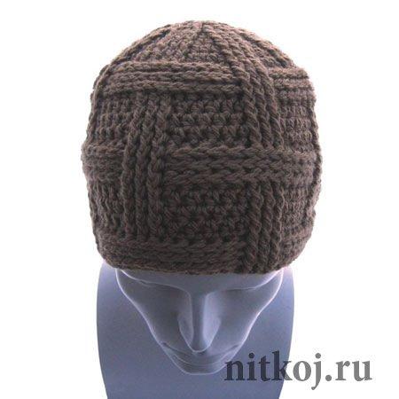 мужская шапка сегмент ниткой вязаные вещи для вашего дома