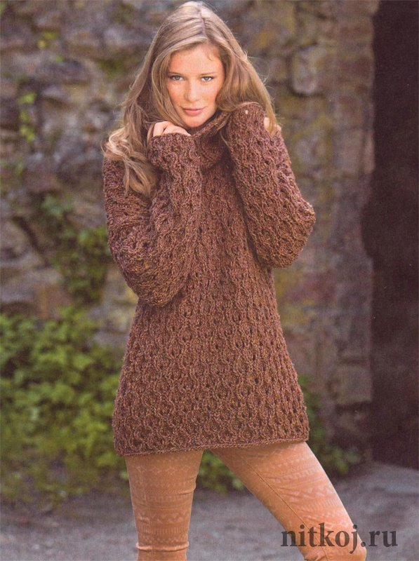 пуловер жакет свитер страница 17 ниткой вязаные вещи для