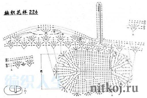 Простая схема пинеток крючком 962