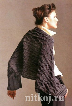 Схема вязания шрагов спицами