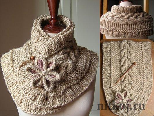 красивое вязание спицами схемы