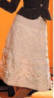 Вязание теплая юбка схемы