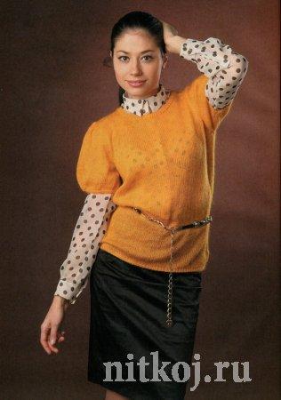 Вязание пуловеров для женщин