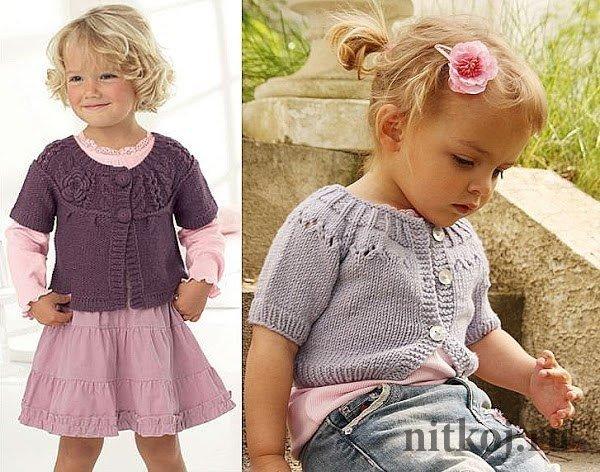 Вязание спицами болеро на девочку 3 лет 10