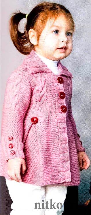 Пальто, курточки » Ниткой - вязаные вещи для вашего дома ...