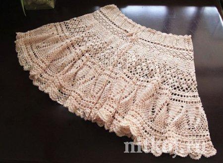 ажурная юбка крючком схемы
