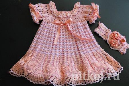 Крестильное платье от shebanadezhda