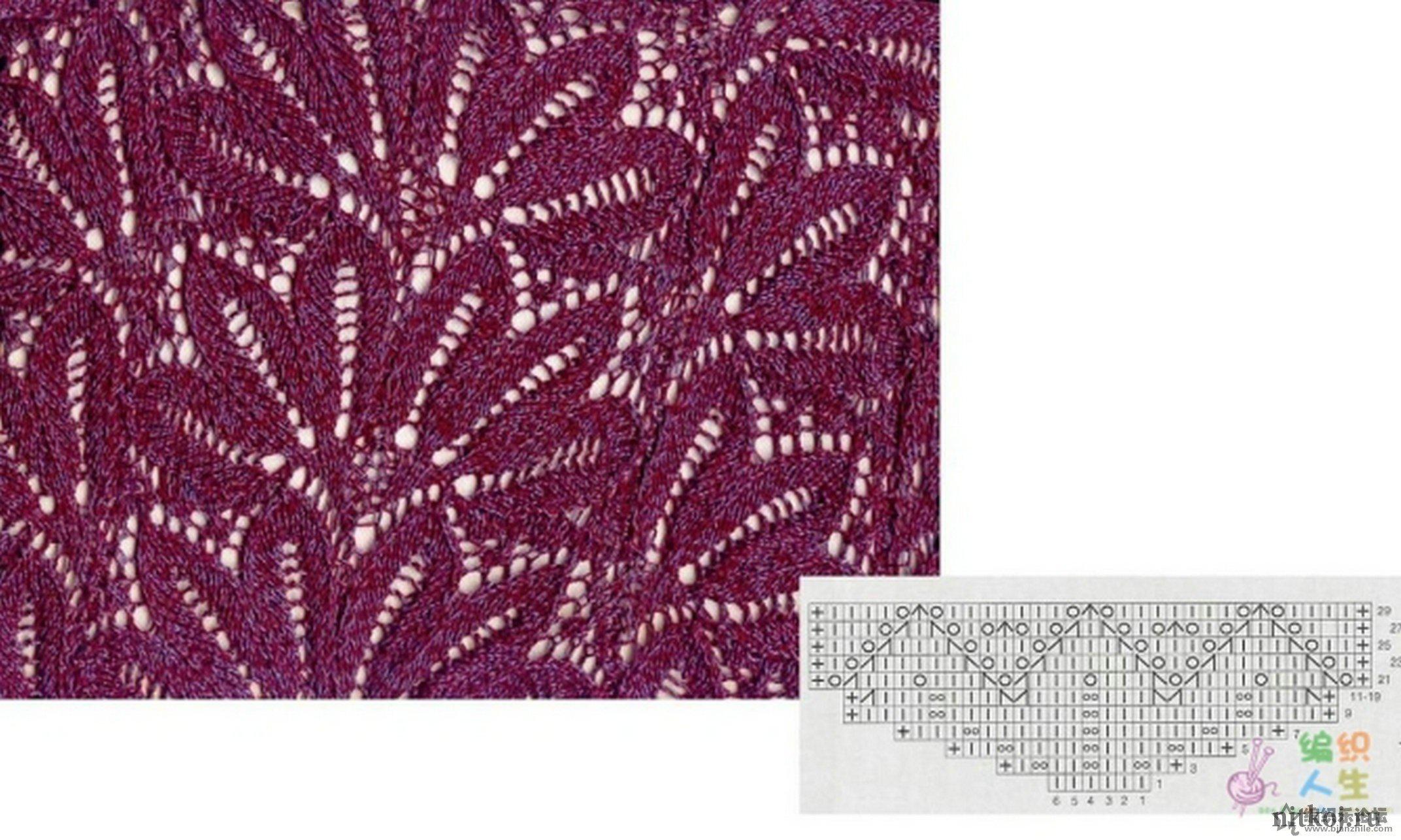 Ажурные узоры для вязания спицами схемы