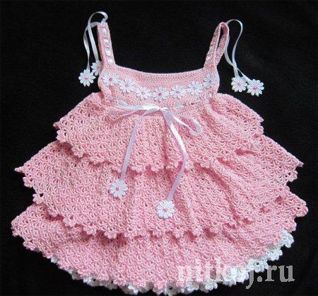 Платья детские на 6 месяцев