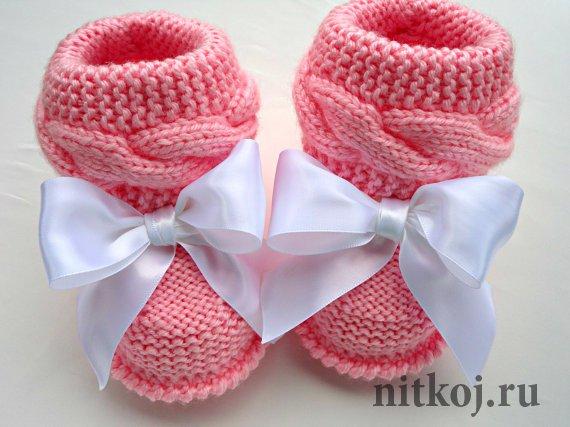 Вязание спицами для детей штанишки схема фото 135