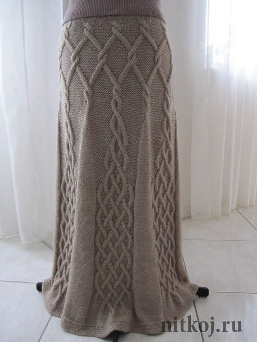 Схема юбки эйфелева башня