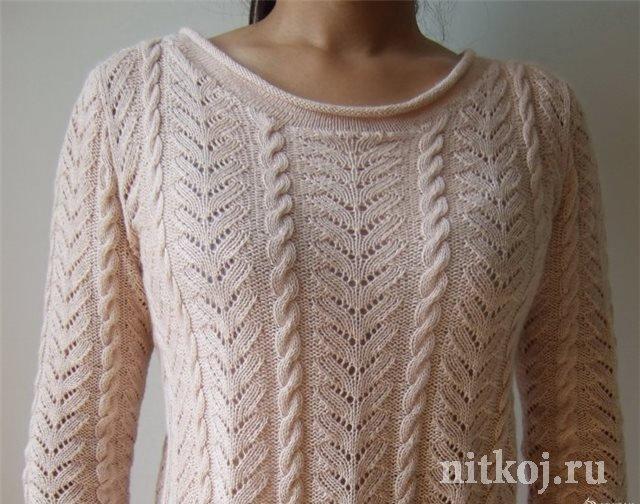 Свитер пуловер женский