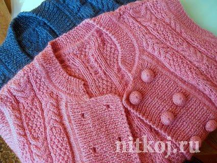 вязание крючком ажурных пуловеров