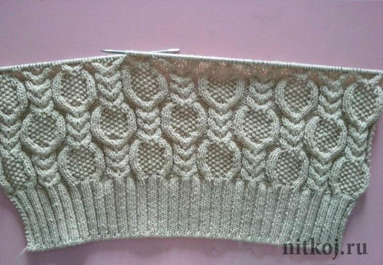 узор кос для свитера ниткой вязаные вещи для вашего дома