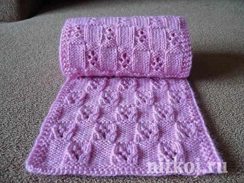 Вязание шарф снуд для детей