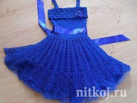 Детское платье крючком от TATIMAMA