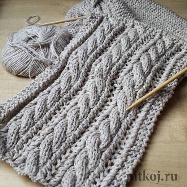 снуд для детей крючком схемы вязания