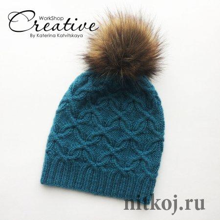 Зимний комплект спицами от katerina Katvitskaya