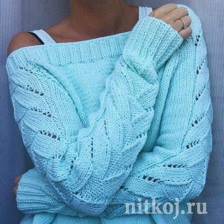 Узор для модного пуловера