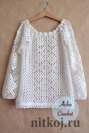 Блуза от Ольги Маннаповой
