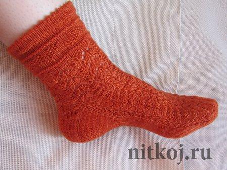 Ажурные носки «Lydia Bennet Secret»